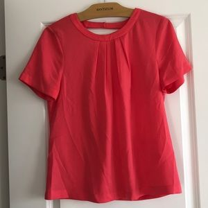 Jcrew Blouse with Back Cutout Size Small